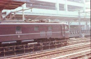 EF-58 60 名古屋駅